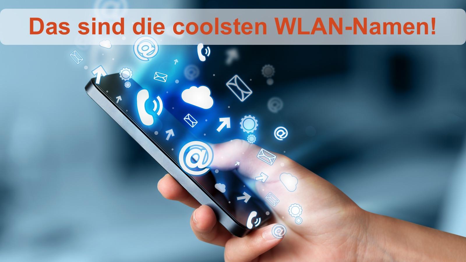 Lustige WLAN-Namen für euer Netzwerk | © ra2 studio – Fotolia.com